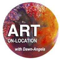 ART-ON-LOCATION with Dawn-Angela