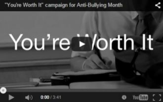 Anti-Bullying Campaign Gets National Recognition