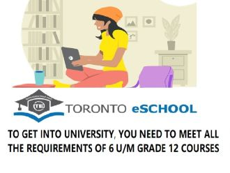 Start/Upgrade a Grade 12 Course to Meet University Admission