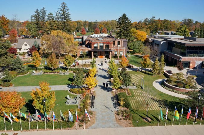 Appleby College Campus In Oakville Ontario