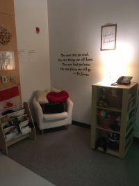 Small lounge area