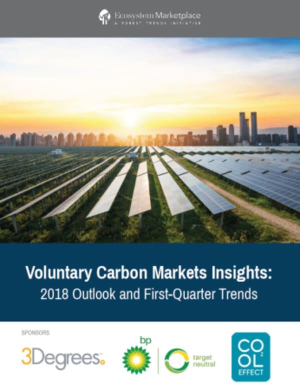 Önkéntes Karbon Piac - jelentések