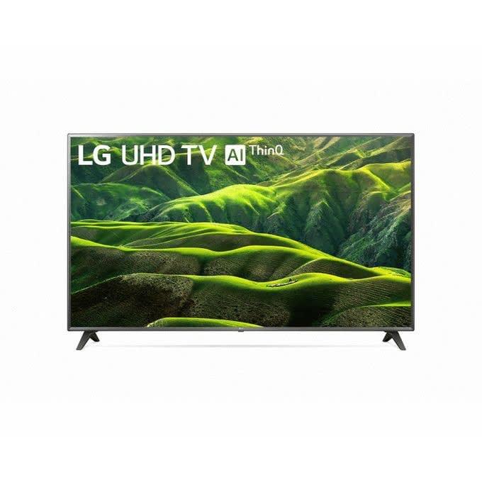 LG UHD 4K TV 82 Inch UN8080PVA, Cinema Screen Design 4K Active HDR WebOS Smart AI ThinQ