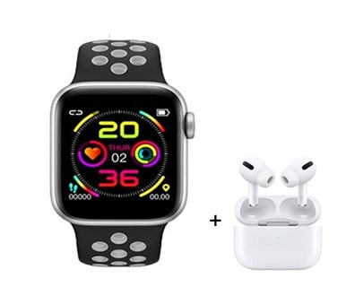series 6 Smartwatch with buds