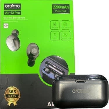 Air 12 Pro Bluetooth With Power Bank - Black