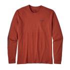 M L/S Text Logo Cotton/Poly Responsibili-Tee