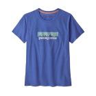 W Pastel P-6 Logo Organic Crew T-Shirt