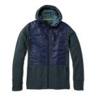 M Merino Sport Fleece Full Zip Hybrid Hoodie
