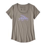 W Flying Fish Organic Scoop T-Shirt
