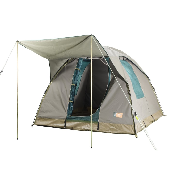 Campmor Tourer 4-person Canvas Dome Tent with Awning - default