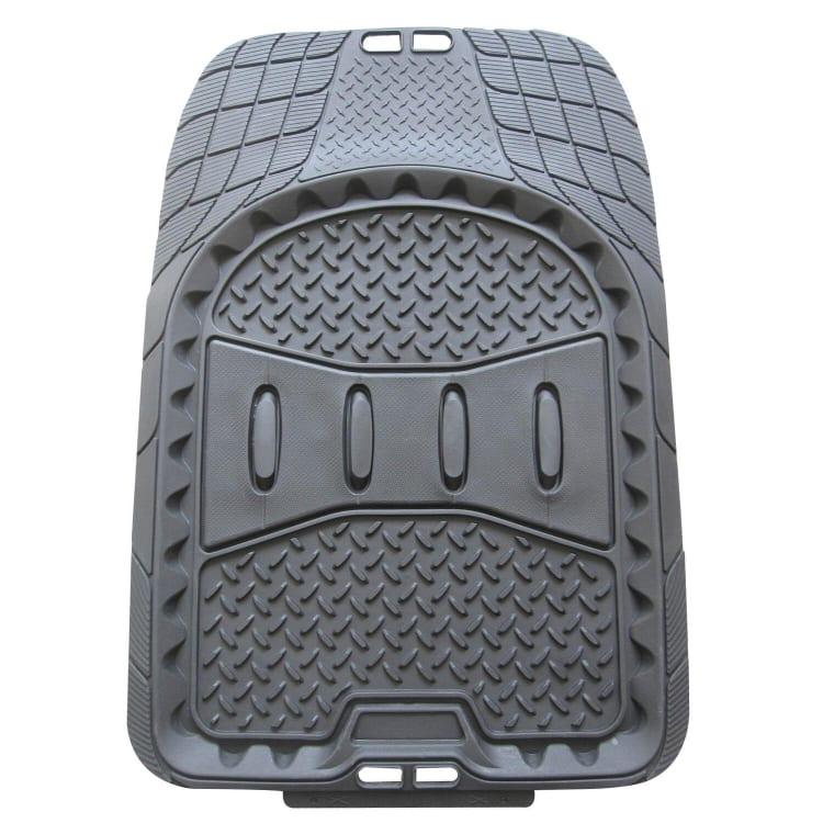 TrailBoss Front Rubber Vehicle Floor Mat - 2 Piece - default