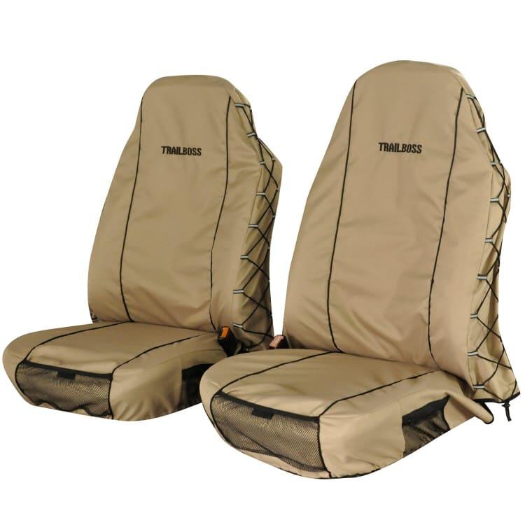 TrailBoss Front Seat Cover - 2 piece - default