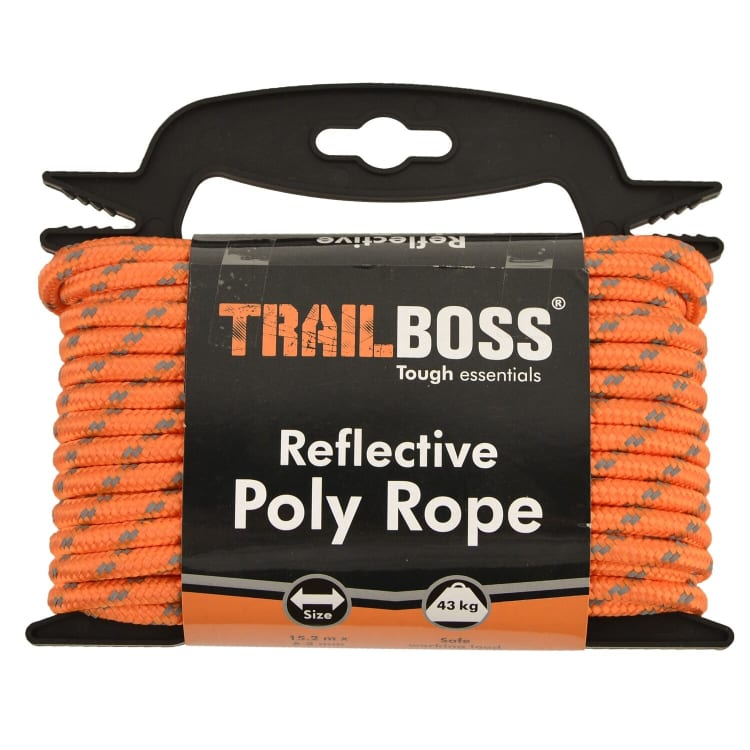 TrailBoss Reflective Rope - default