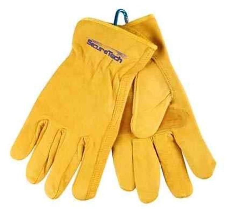 SecureTech XXL 4x4 Recover Leather Gloves - default
