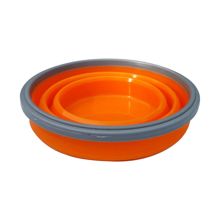 360 Degrees Folding Silicone Bowl - default