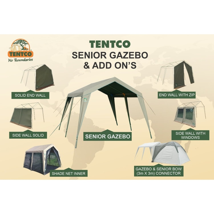 Tentco Senior Canvas Gazebo - default