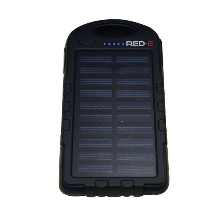 Red-E RS40 4 000mAh PowerBank With Solar Panel - default