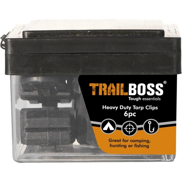 TrailBoss Tarp Clips 6pc - default