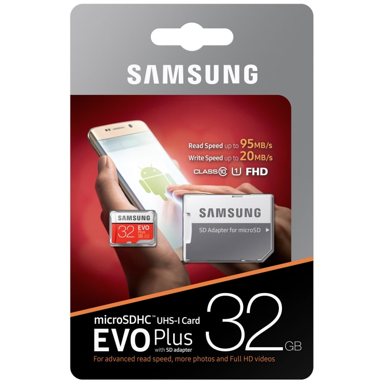 Samsung EVO Micro SD 32GB SDHC - default