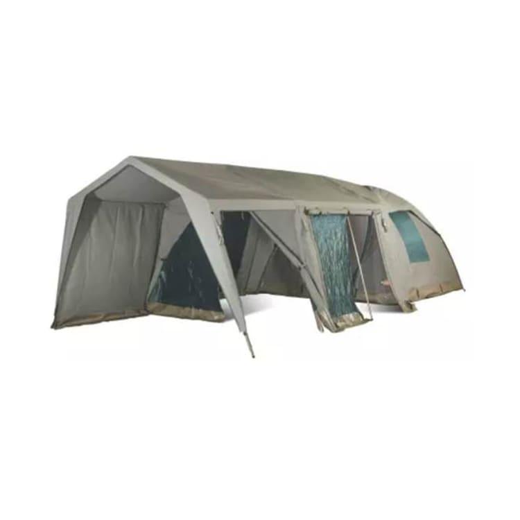Campmor Safari Senior Bush Combo Canvas 5-person Dome Tent with Large Extension and Verandah - default