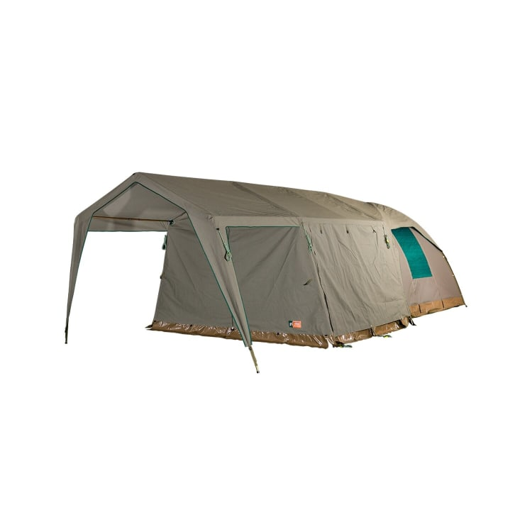 Campmor Safari Senior Bush Combo Canvas 5-person Dome Tent with Large Extension and Verandah - default