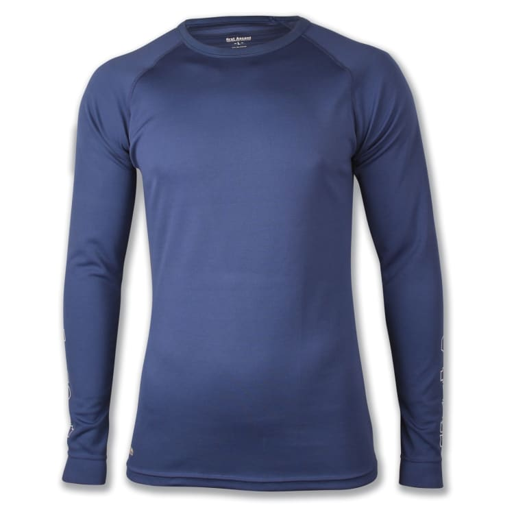 First Ascent Men's Quick Wic Bamboo Long Sleeve Top - default