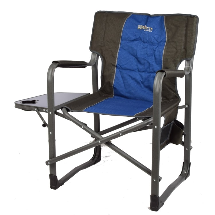Natural Instinct Platinum Heavy Duty Director Chair With Pocket - default