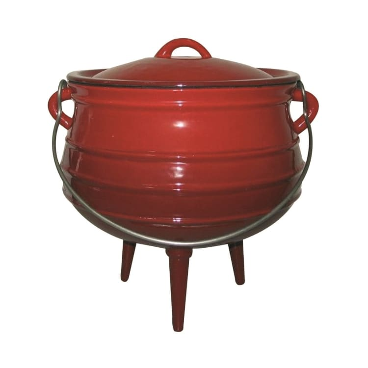 BushChef Enamel Cast Iron 3 Leg Pot - No. 3 - default