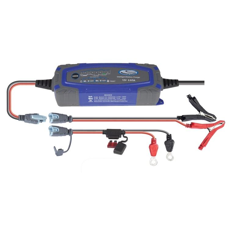 National Luna Intelligent 5 Amp Battery Charger - default