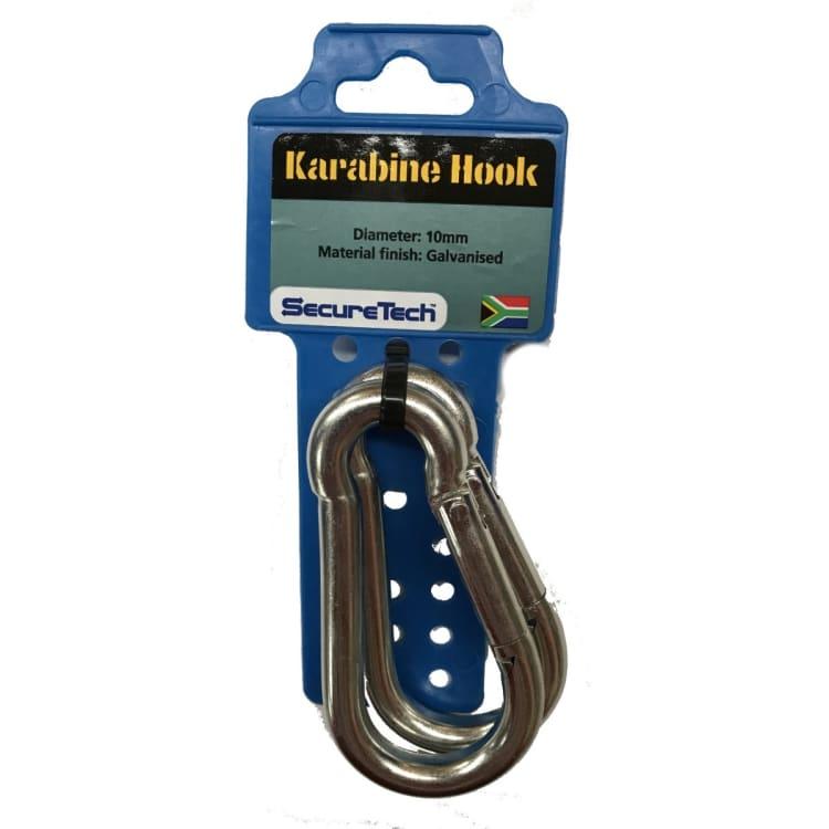 SecureTech Carabiner 2Pack 10mm - default