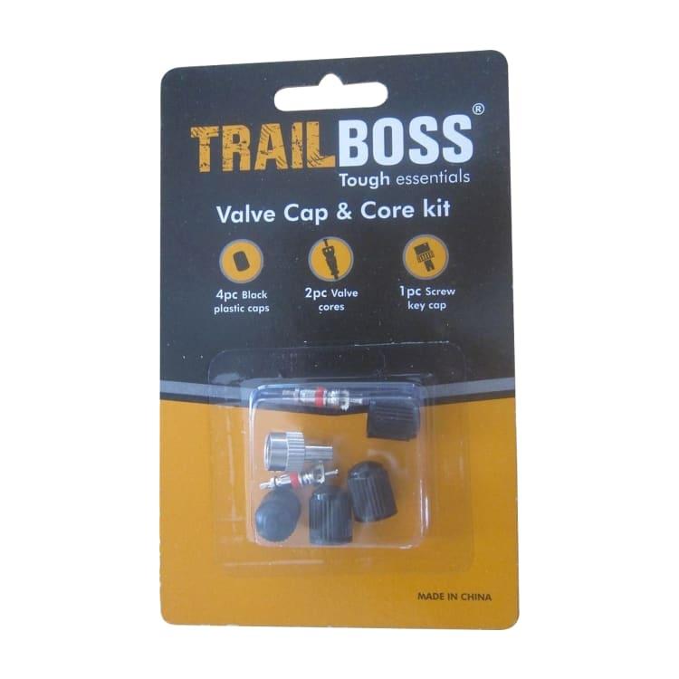 TrailBoss Valve Cap & Core Kit - default