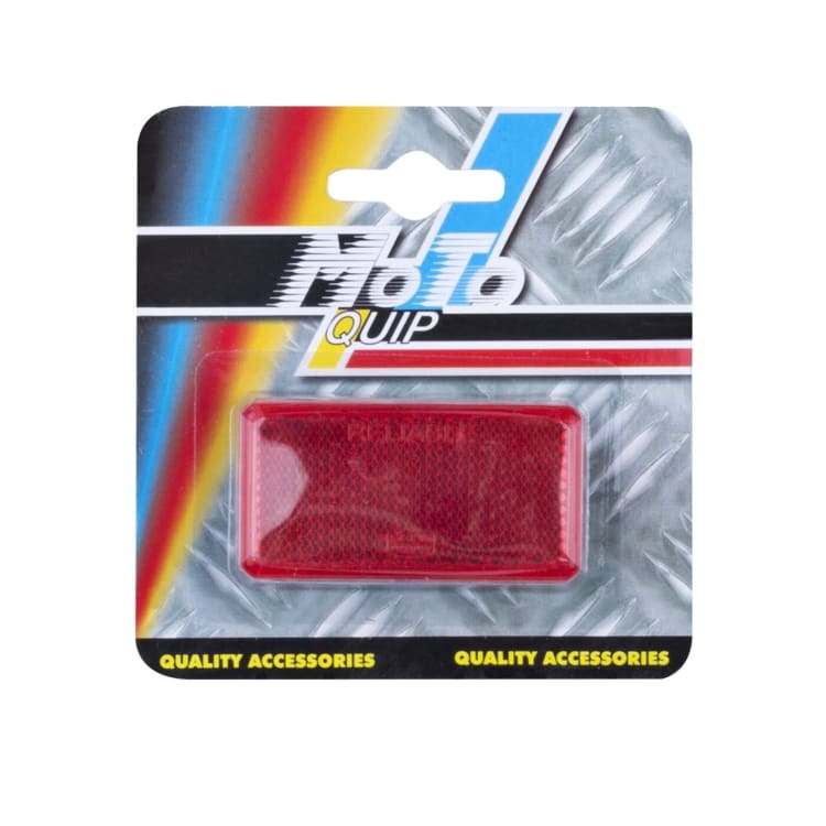 Moto-Quip Adhesive Oblong Reflector 2-Pack - default