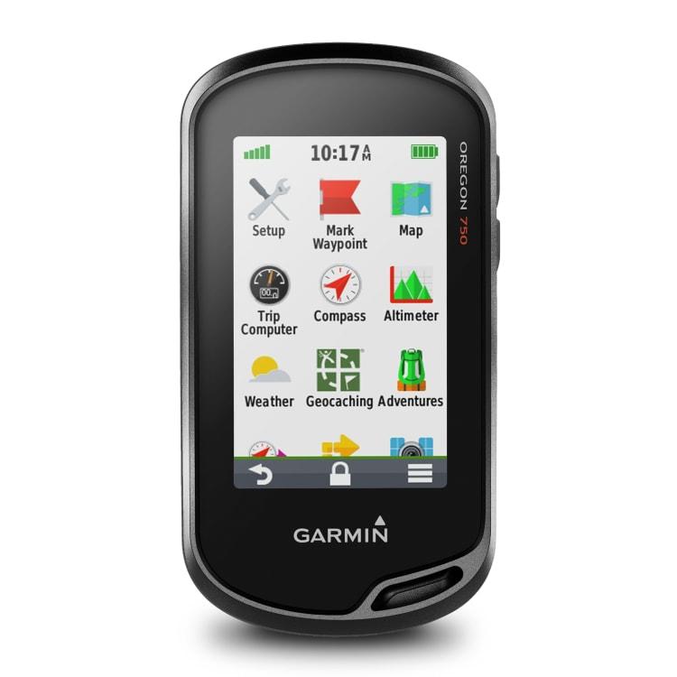Garmin Oregon 750 - default