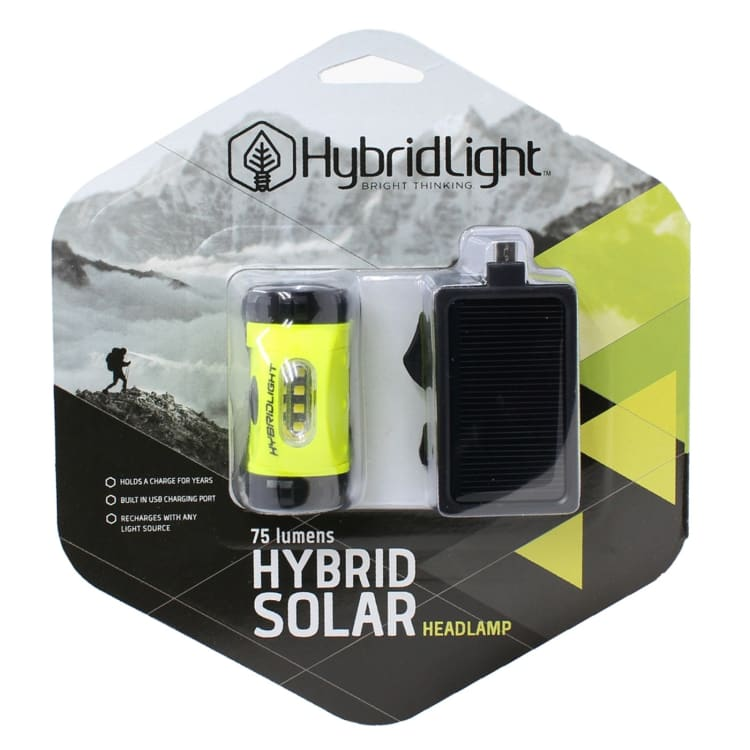 HybridLight Solar Headlamp - default