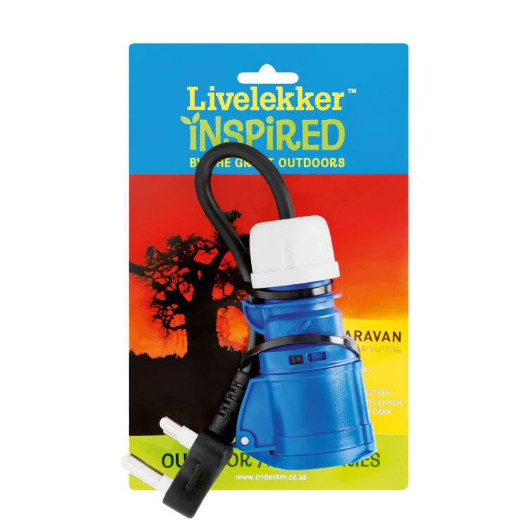 Livelekker Caravan CE Female to SA Plug - default