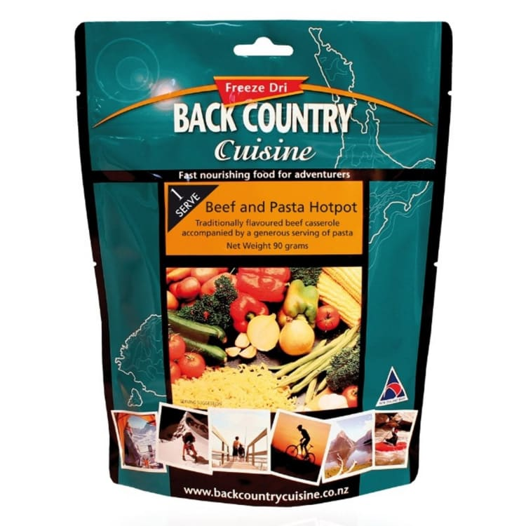 Back Country Beef and Pasta Hotpot - default