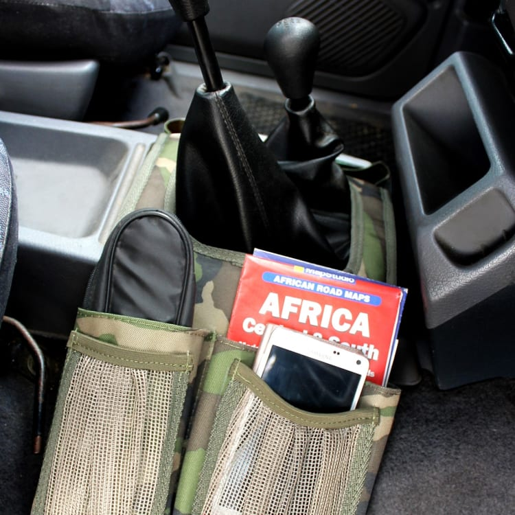 Camp Cover Camo Gear Saddle Bag - default