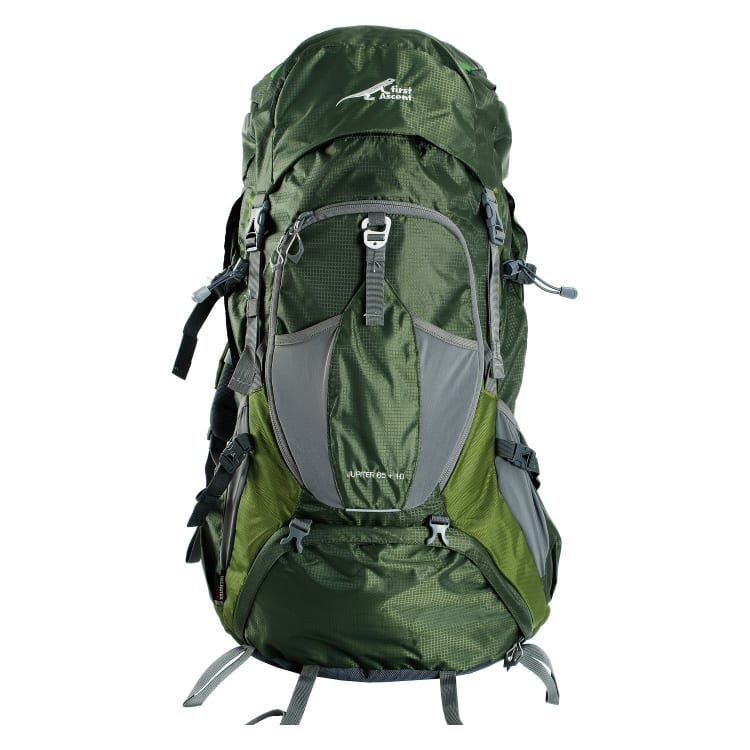 First Ascent Jupiter ll 65L + 10 Ruck Sack - default