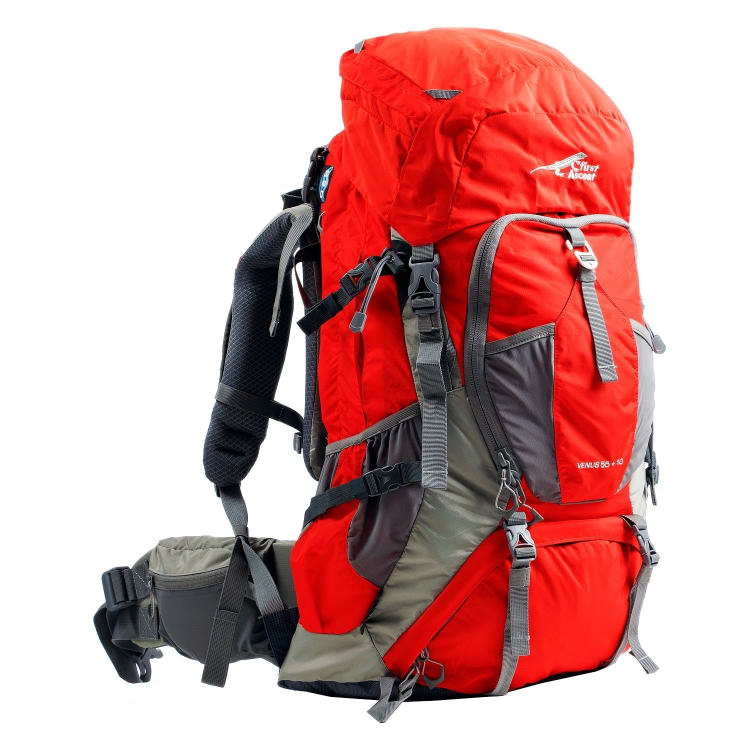 First Ascent Venus ll 55 + 10L Hiking Pack - default