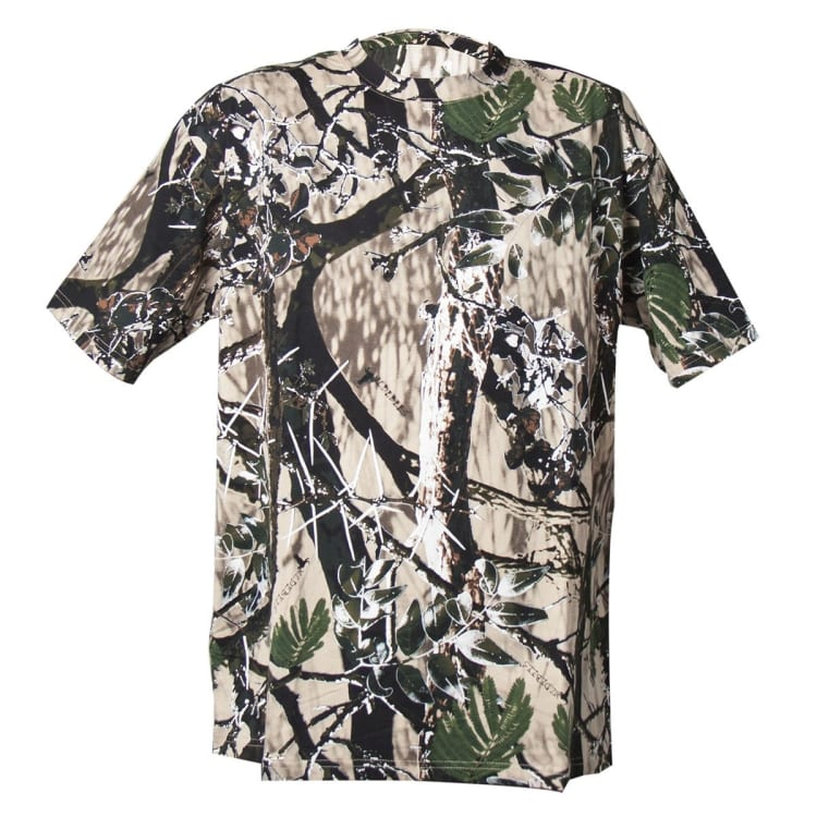 Wildebees Men's Short Sleeve Camo Tee 2XL-5XL - default