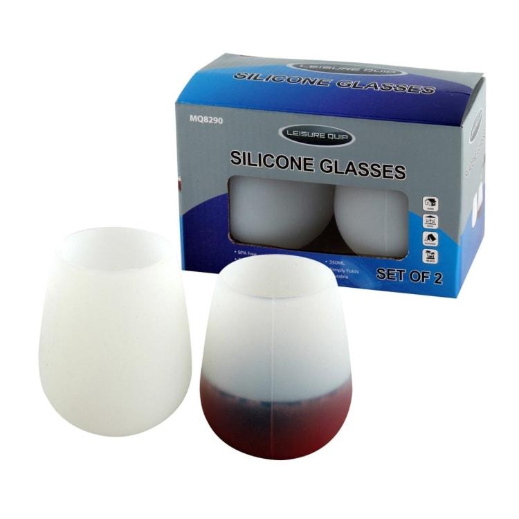 Leisure Quip Silicone Wine Glasses - default
