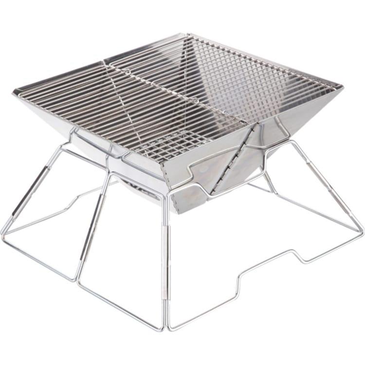 Fireside Stainless Steel Small Folding Braai - default