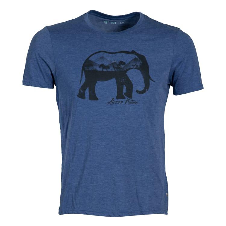 African Nature Men's Elephant Tee - default