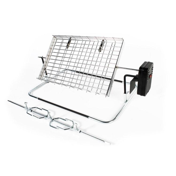 LK's Rotisserie - Large Flat Basket and Spit - default