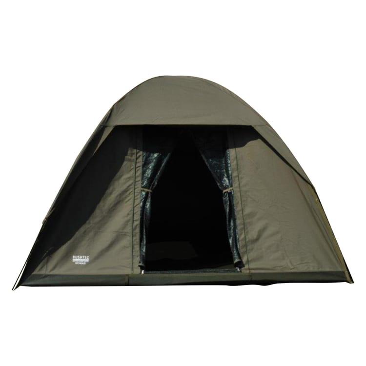 Tent: Bushtec Nomad 4-Person Canvas Dome Tent - default