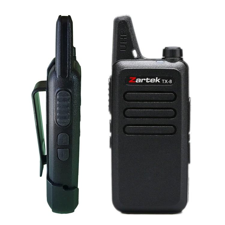Zartek TX-8 Two-Way Radio Twinpack - default
