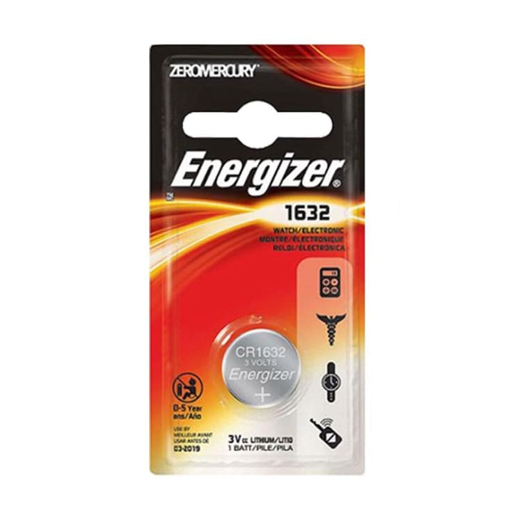 Energizer 3V 1632 Lithium Battery - default