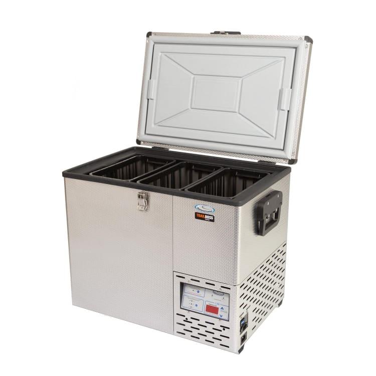 National Luna Trailboss Series Stainless Steel 50  Fridge/Freezer - default