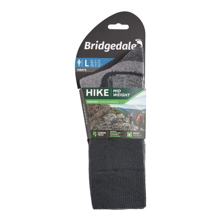 Bridgedale Men's Midweight Merino Wool Sock - default