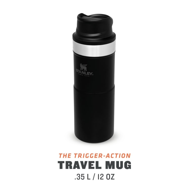Stanley Classic Trigger Action Mug 355ml Matte Black - default